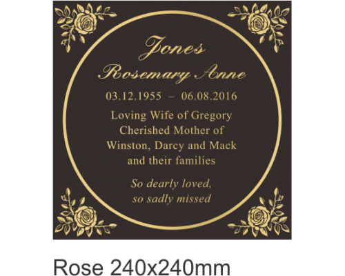 Ashes Rose 240mm