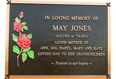 Jones plaque