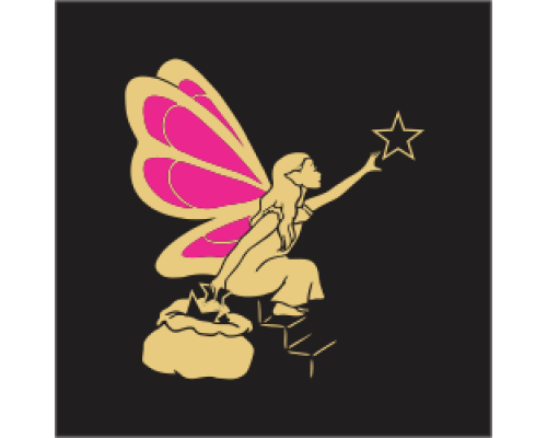 Coloured Motif - Fairy