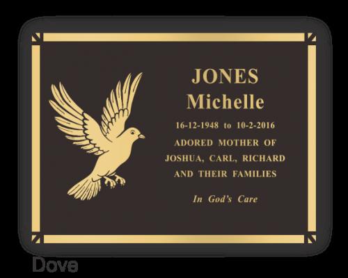 Side Design - Dove - 380x280mm