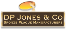 DP Jones & Co - Bronze Plaque Manufacturers